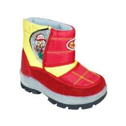 15 of Children Printed Winter Boots Red