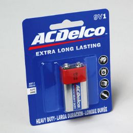 96 of Battery Ac Delco 9volt 1pk Heavy Duty On Blister Card