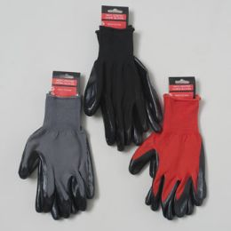 48 of Nitrile Coated Work Gloves