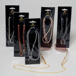 24 of Eyeglass Chains 12 Asst Case