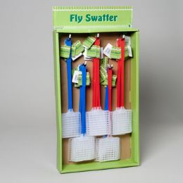 160 of Flyswatter Plastic Red Or Blue Colors In 40pc Sidekick Display Gov Garden Hangtag