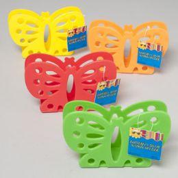 48 of Napkin Holder Butterfly Shape 4 Summer Colors Die Cut Gov Summer Hang Tag