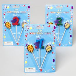 144 of Birthday Candles On A Stick 3pc