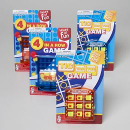 108 of Travel Games Tic Tac Toe Or 4 In A Row/blue & Orange