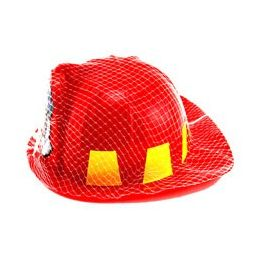 36 of Youth Size Fireman's Helmet, Packaged In NeT-Bag With Hang Tag.