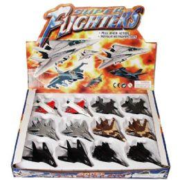 24 of DiE-Cast Super Fighters