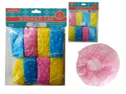 144 of 8 Piece Shower Caps