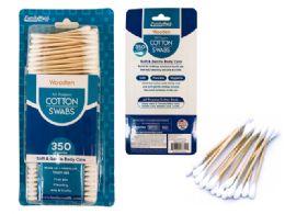 72 of 350 Piece Wooden Cotton Swabs