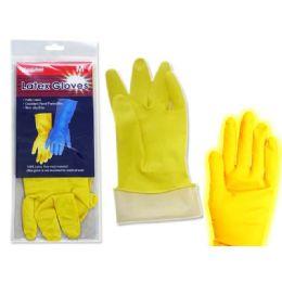 144 of Gloves Latex 1 Pair Medium