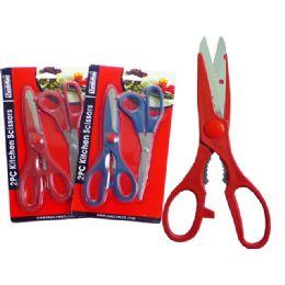 "96 of Kit Knife 1 Pc+1pc 8"" Scissor"