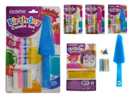 144 of Birthday Candle Set 49 Piece