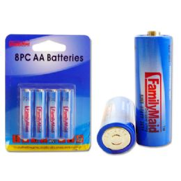 96 of 8pc Aa Batteries Blister Card
