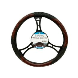 18 of Textured TwO-Tone Steering Wheel Cover