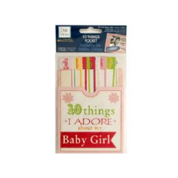 144 of 10 Things I Adore About My Baby Girl Journaling Pocket