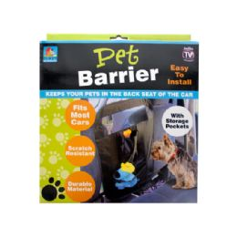 12 of Auto Pet Barrier With Storage Pockets
