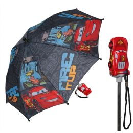 12 of Disney Cars Boy's Umbrella with 3D Molded Handle