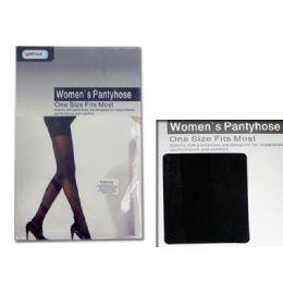 120 of Pantyhose Women's Black