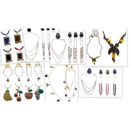 180 of Lot Of Fashion Necklace And Earring Sets Only Good Sellers