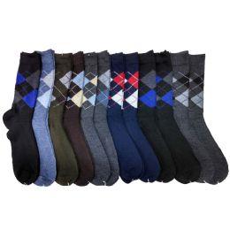 120 of Mens Argyle Dress Socks