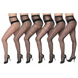 48 of Womens Sexy Fishnet Pantyhose - One Size Fits All