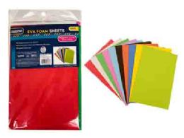 96 of 10pc Foam Sheets