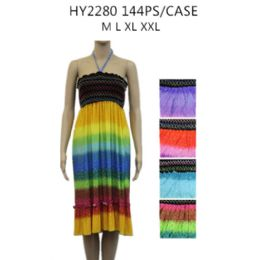 48 of Womens Fashion Short Summer Dress Rainbow Colors