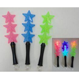 "120 of 14"" Light Up Wand [3 Stars]"