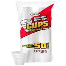48 of 50ct 8.5oz Foam Cups