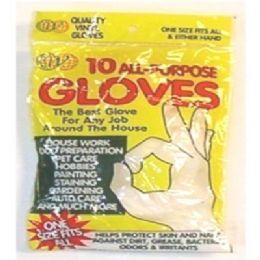 72 of 10pc Vinyl Gloves