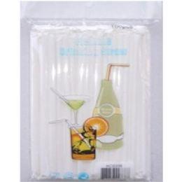 72 of 100pc Drinking Straws