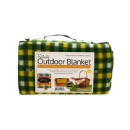 6 of Soft Fleece Foldable Outdoor Blanket