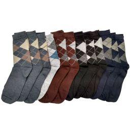240 of Mens Classic Argyle Dress Socks