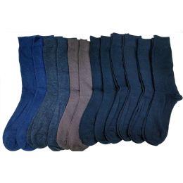 240 of Mens Solid Colors Cotton Dress Socs