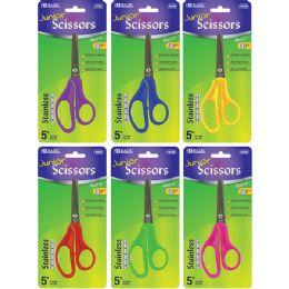 """72 of Bazic 5"""" Blunt Tip School Scissors"""