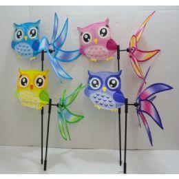 """36 of 16"""" 3d Wind Spinner [owl]"""
