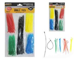 144 of 250pc Asst Color Cable Ties