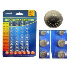 144 of Batteries Button 40pc/set