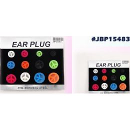 96 of Bodyjewelry Peace Sign Ear Plug