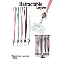 48 of Retractable Lanyards
