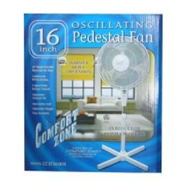"6 of 16"" Ped Oscillating"