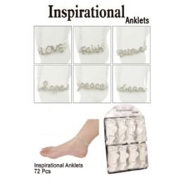 72 of Inspirational Anklets