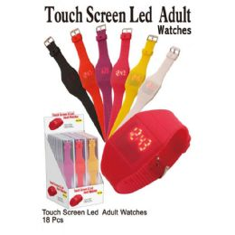 18 of Touch Screen Led Adult Watches