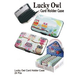 24 of Luck Owl Card Holder Case