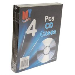 96 of Cd Case Plastic 4pk
