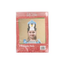 144 of Holiday Fun Penguin Hats, Pack Of 2