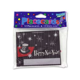 216 of New Year's Placecards, Pack Of 12