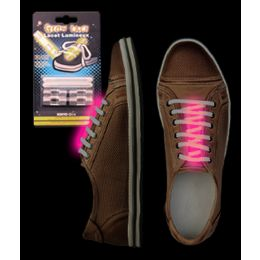288 of Glow Shoe Laces - Pink
