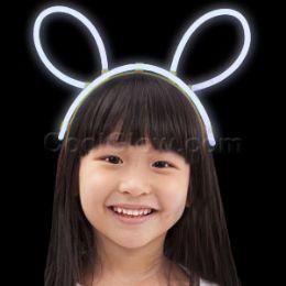 96 of Glow Headband - White