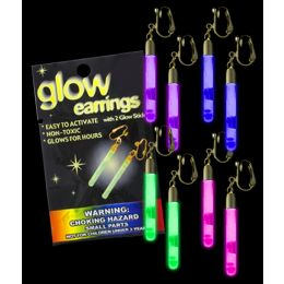 75 of Glow Pendant Earrings - Assorted