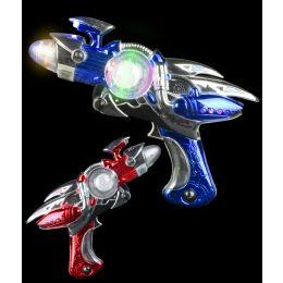 60 of LED Space Flash Blaster Gun